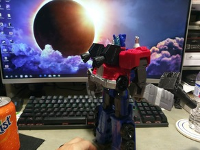 Optimus Prime Jet-pack for Cyber commander series and Amazon exclusive