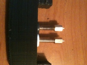 double feed extruder mount