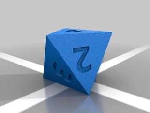 D8 Polyhedral Die