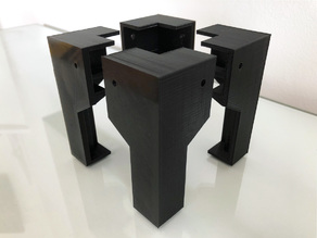 Tronxy X3 / X3A / 2020 Extrusion Framed 3D Printer Legs