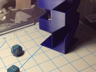 Angular Dice Tower