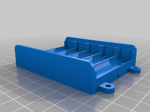 Battery Box for 5 AA Cells