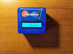 DIY Wireless Solar Power Monitor