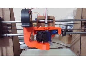 Extruder Mount and Cooling Duct Kit