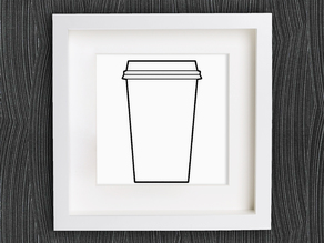 Customizable Origami Disposable Coffee Cup