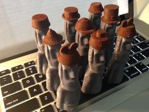 More Moai Hats