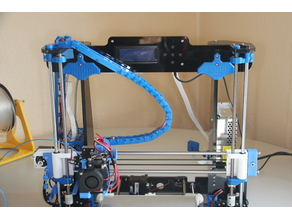 Y and Z cable chain to Extruder for Anet A8 - left side