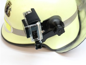 Dräger PX1 / UK4 GoPro Bracket for fire helmet HPS 4100 / HPS 4300