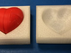 Box for Almost Impossible Heart puzzle
