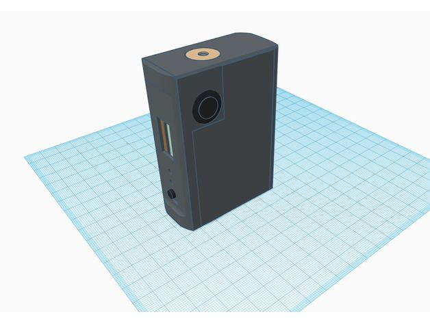 DNA 75c Squonk side button (might need tweaking) by
