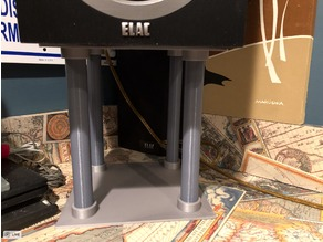 Customizable Speaker Stand