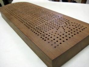 Dive! Cribbage Board