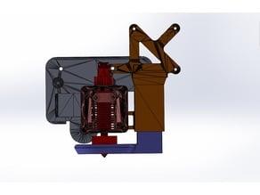 CR-10 PRO OEM hot end fan and part fan mount