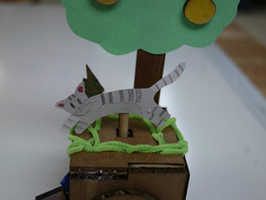 Simple Machines: Cardboard Mechanical Automata/Karakuri