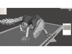 Monster Hunter Odogaron - Sliced