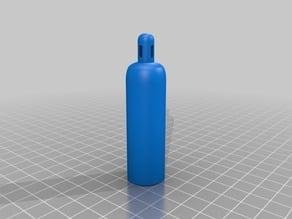 Oxygen Cylinder O2 keychain