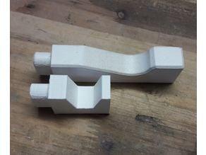 smaller hooks for Ikea Kubbis rack