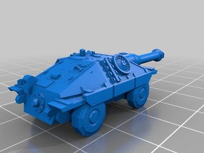 Battletech Hetzer wheeled tank