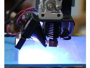 LED Panel holder for Printrbot Simple Metal Rev 2