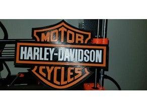 Harley Davidson Logo Remix (Cleaned up lettering)