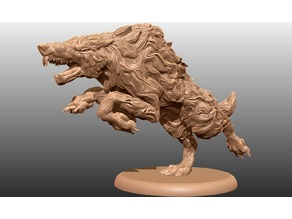 Wolf - Tabletop Miniature