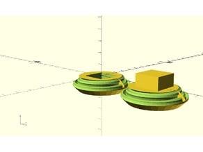 Parametric Hyperbolic Worm Gear