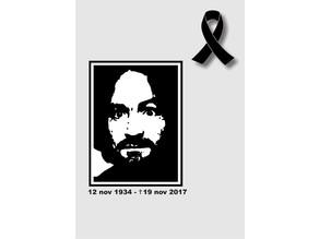 T-shirt of Charlie Manson