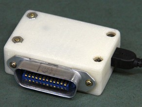 Arduino GPIB-USB Connector Shell