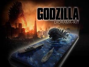 Godzilla Diorama-KIT