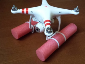 Floating Extentions for DJI Phantom Vision
