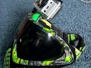 GoPro Mount For Dye i4 Paintball mask