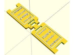 Parametric Floor Standing Signs