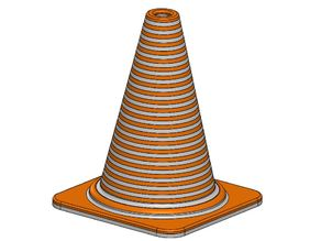 Dual Color Cone 1mm pitch