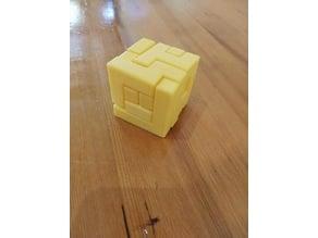 3D tetris puzzle