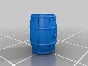 Wooden Barrel: Wine Rundlet