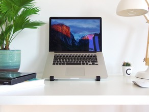 The geometric stand for MacBook Pro Retina