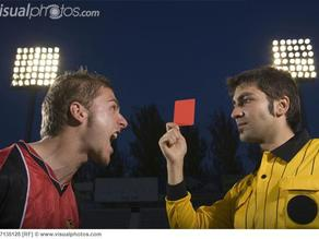 Football Referee Card, Soccer