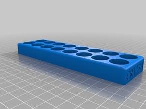 CR123/CR123A Battery Tray