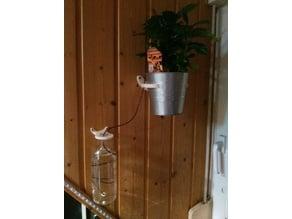 Wall mounts for Ikea Socker Plant Pots