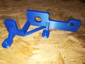 Anet A8 fixing the back frame