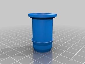 19mm low density poly end cap.