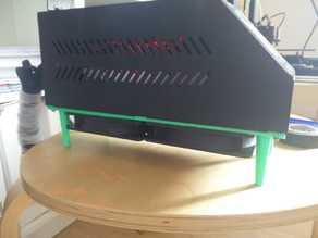 Base 120mm fan x 2 Geeetech a30