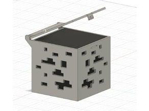 Minecraft CoalOre Box V1 - Prototyp - Hookah Coal Box