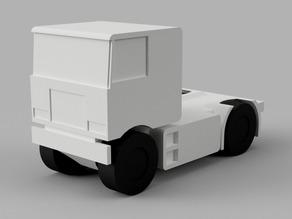 Mini Cars 128 - Crackerbox Truck