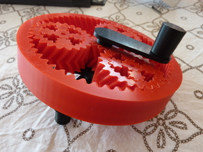 Lever for Planetary gear