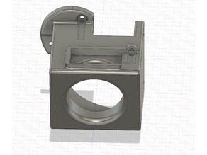 Quick Box Fang for Stock CR-10 for 40mm Blower fan