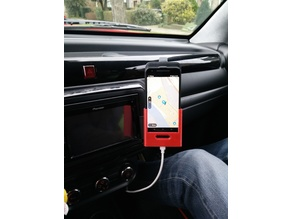 Nexus 5X car holder for flip case and with charger