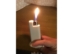 The lighter that is not required holding