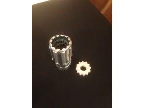 Chris King ISO hub driveshell disassembly tool