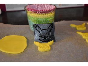 Pikachu Cookie Cutter / Icing Stamp